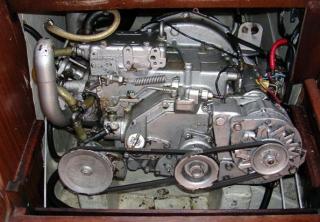 moteur Yanmar YSE 8 cv