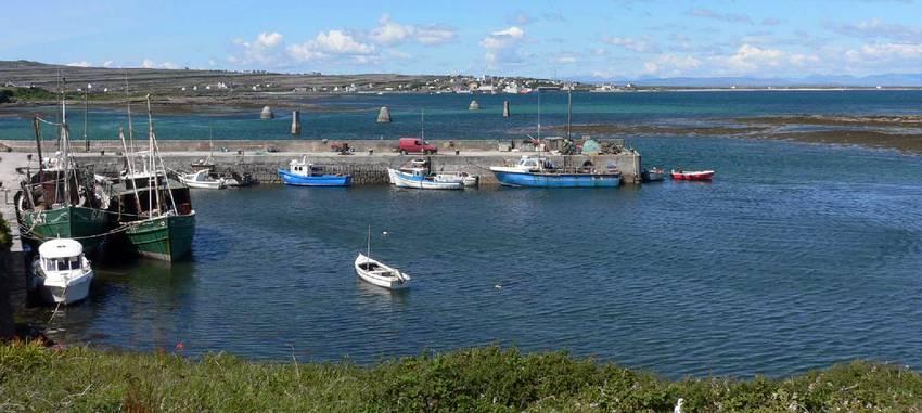 Inishmore - Le port