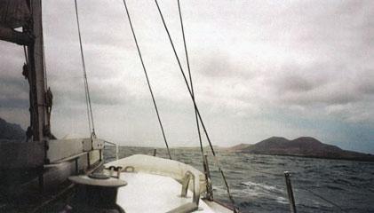 Isola Graciosa en vue !!!