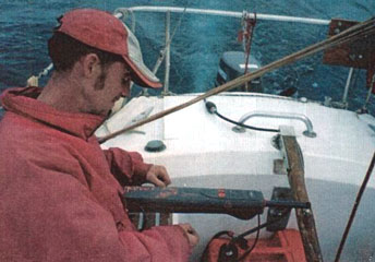 moment de passion intense avec le pilote(dans le golfe de Gascogne)
