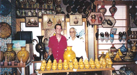 Safi est une ville vivant exclusivement de la pêche et de la poterie
